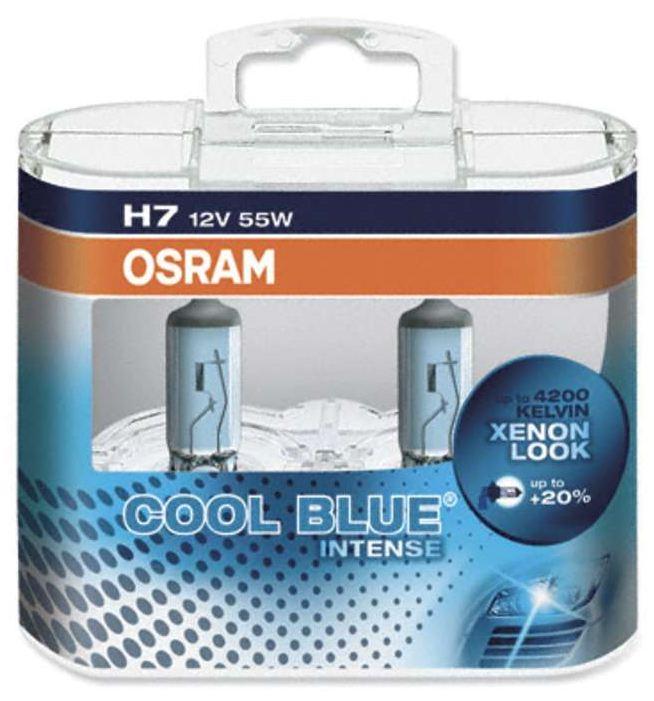 OSRAM žárovka H7 12V, 55W Cool Blue Intense 64210CBI - sada 2 kusů