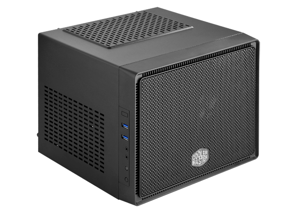 CoolerMaster case mini ITX Elite 110, black, mini ITX, bez zdroje