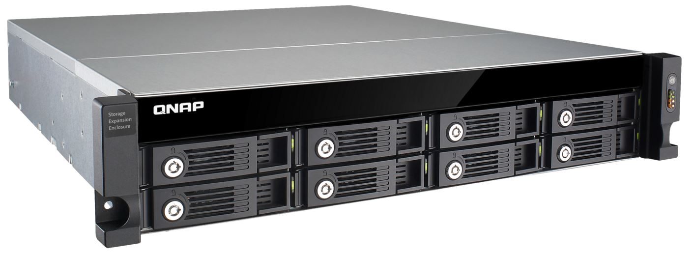 QNAP UX-800U-RP (8-Bay Expansion unit)