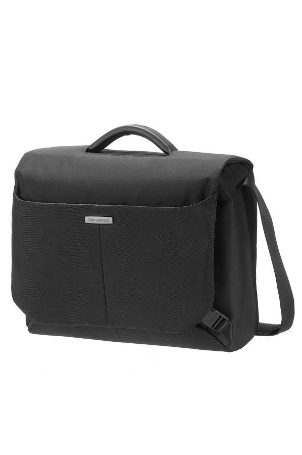 Case messenger SAMSONITE 46U09003 16'' ERGOBIZ , comp., tblt, docu, pocket, blk