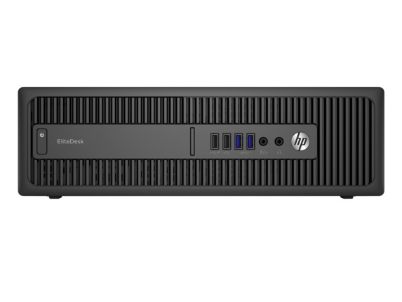 HP EliteDesk 800 G2 SFF i5-6500/4GB/500GB/DVD/3NBD/W10 Pro + Win 7 Pro