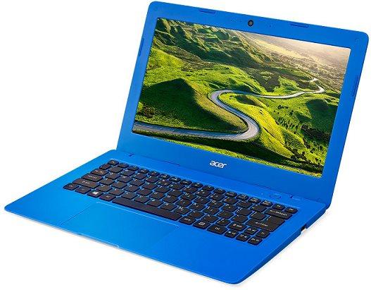 "Acer Aspire One Cloudbook 11 (AO1-131-C216) Celeron N3050/2GB+N/eMMC 32GB+N/HD Graphics/11.6"" HD matný/BT/W10 Home/White/Blue"