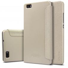 Nillkin Sparkle Folio Pouzdro Gold pro Huawei P8 Lite