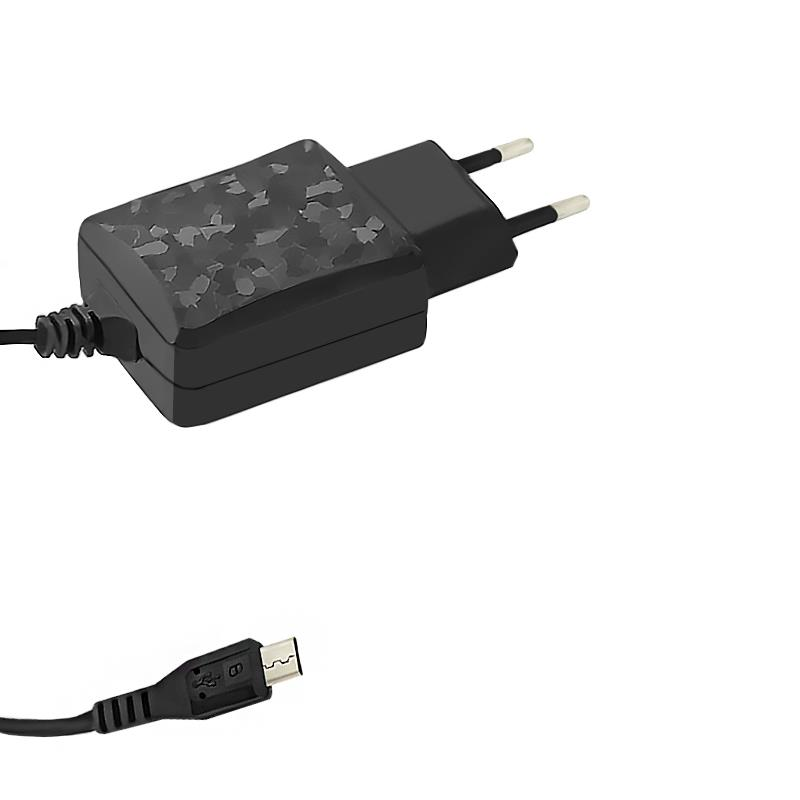 Qoltec AC adapter for Smartphone / Tablet | 5V | 2.1A | MicroUSB | 1.4m
