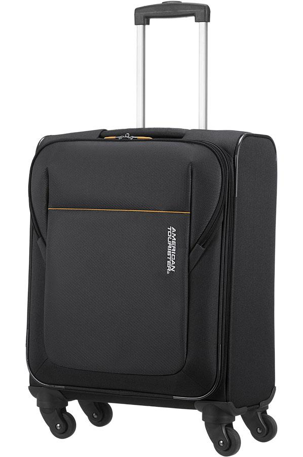 Cabin spinner AT SAMSONITE 84A09002 SanFrancisco Strict S 55 just luggage, black