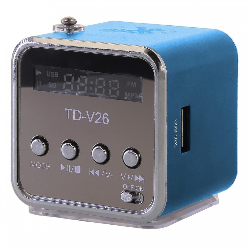 GT TD-V26 mini reproduktor, modrý