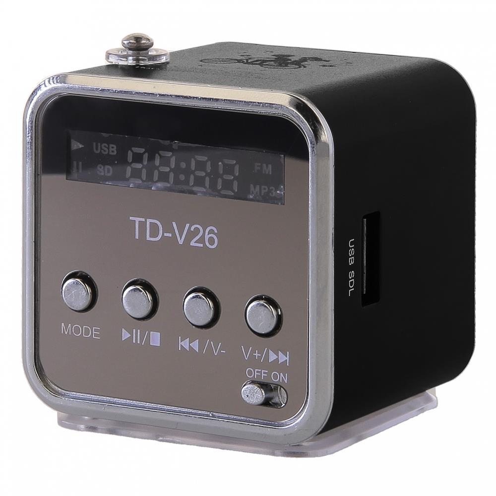 GT TD-V26 mini reproduktor, černý