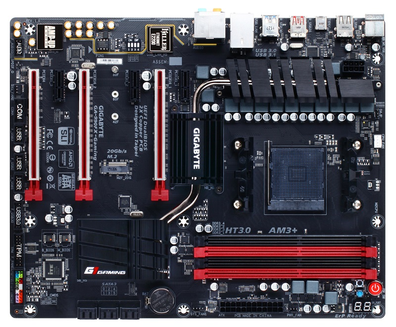 GIGABYTE 990FX-Gaming (rev. 1.0)