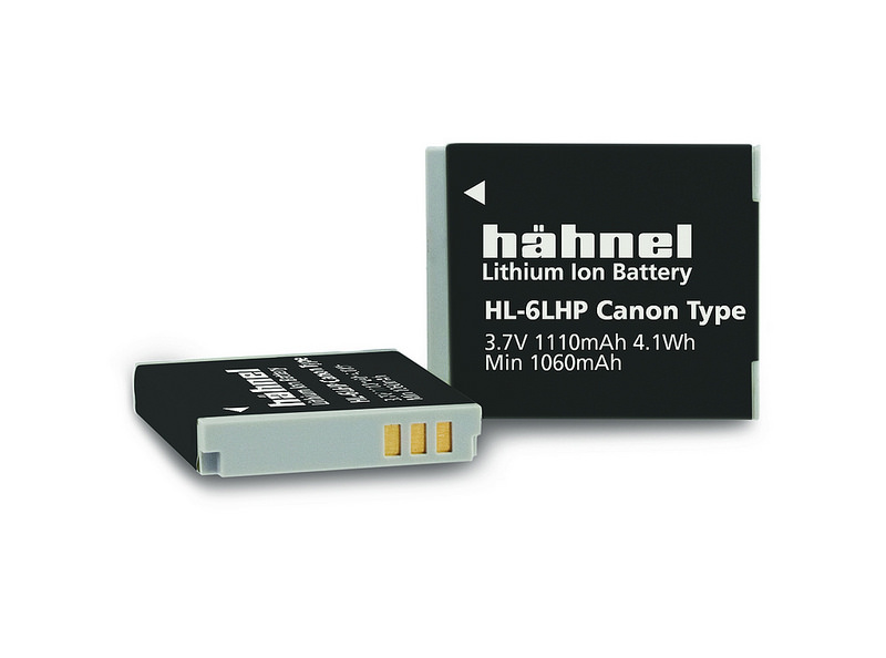 Hähnel HL-6LHP - Canon NB-6LH, 1100mAh, 3.7V, 4.1Wh