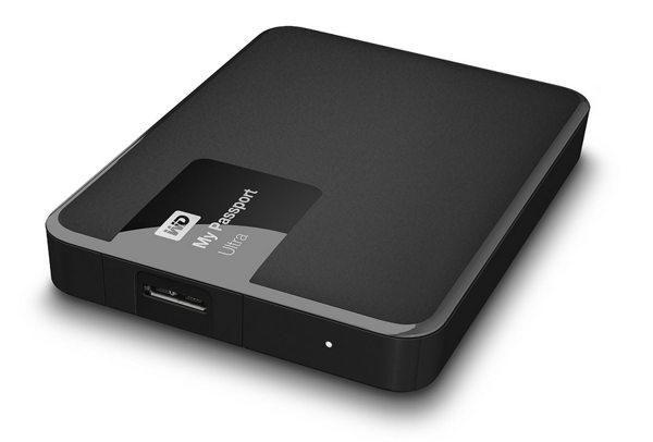 """WD My Passport ULTRA 500GB Ext, 2,5"""" USB3,0, Black"""