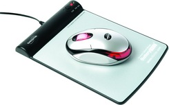 DICOTA Hover - myš s magnet. podložkou