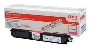 OKI Magenta toner do C110/C130n/MC160 (2500 stran)