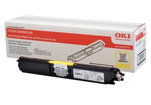 OKI Žlutý toner do C110/C130n/MC160 (2500 stran)