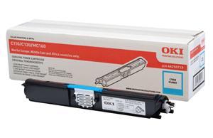OKI Cyan toner do C110/C130n/MC160 (1500 stran)