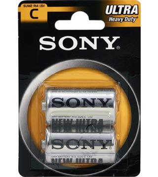 SONY Baterie SUM2NUB2A, 2ks R14/C ULTRA
