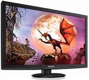 Monitor Philips 273E3LHSB 27'', D-Sub/DVI/HDMI