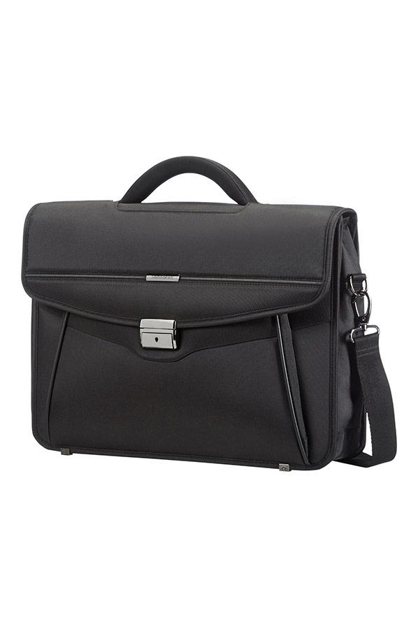 Case SAMSONITE 50D09001 15,6'' DESKLITE, computer, tablet, pocket, black