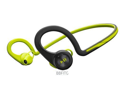 Plantronics BackBeat FIT Bluetooth sluchátka pro smartphony, záhlavní, zelená