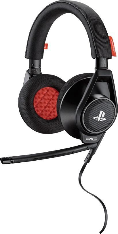 Plantronics RIG System herní sluchátka s mikrofonem pro PS4/PS3/PS VITA, černá