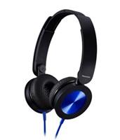 Panasonic stereo sluchátka RP-HXS220E-A, 3,5 mm jack, modrá
