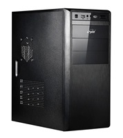 PC case Spire MANEO 1076B, black, PSU 420W