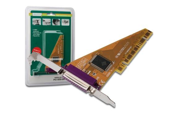 Digitus adaptér PCI 1x paralelní