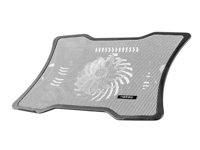 NATEC laptop cooling pad MACAW White (12,1''-15,6'') silent fan with LED backlig