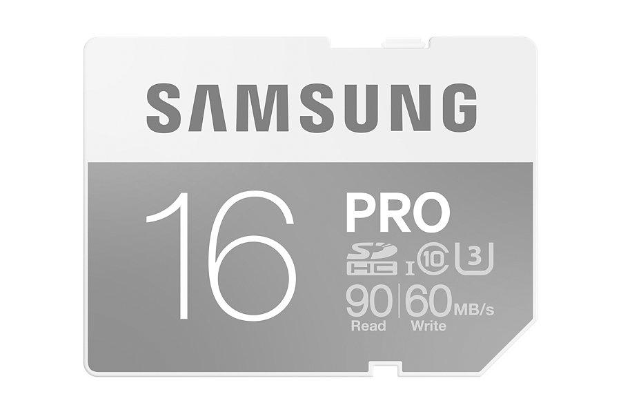 Samsung SDHC karta 16GB Class 10 PRO
