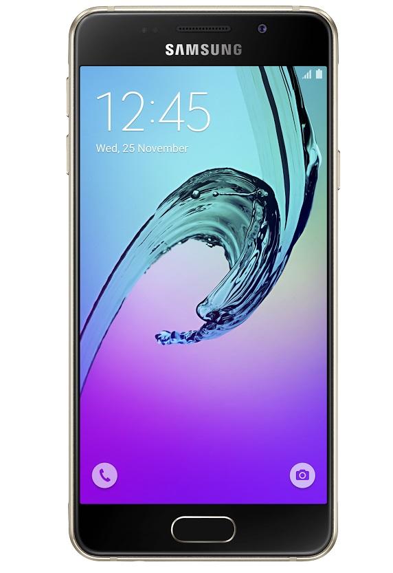 Samsung Galaxy A3 LTE (SM-A310F), zlatá