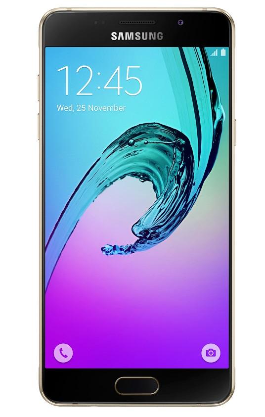 Samsung Galaxy A5 LTE (SM-A510F), zlatá