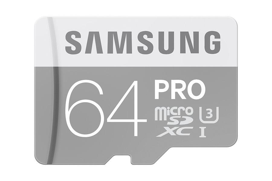 Micro SDXC 64GB Samsung Class 10 PRO