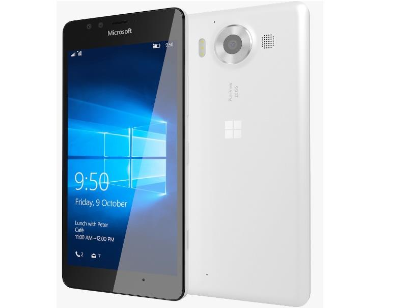 Microsoft Lumia 950 White Single Sim