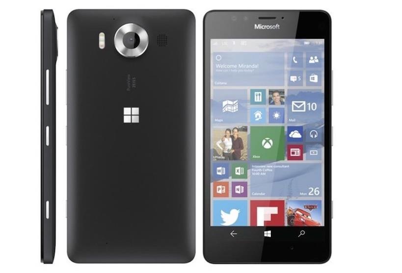 Microsoft Lumia 950 Black Dual Sim