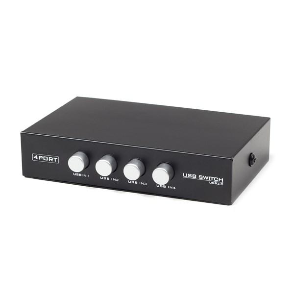 GEMBIRD Datový přepínač 4:1 manual USB