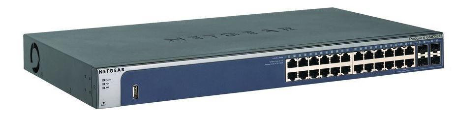 NETGEAR M4100 24xGb,4x SFP, L2,GSM7224