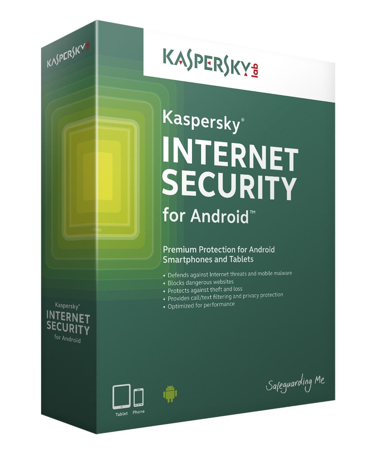 Kaspersky Internet Security for Android CZ, 2x mobil nebo tablet, 12 měsíců - prodloužení (ESD)