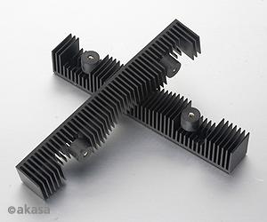 """AKASA kit pro 3,5"""" HDD - chlazení, vibrace"""