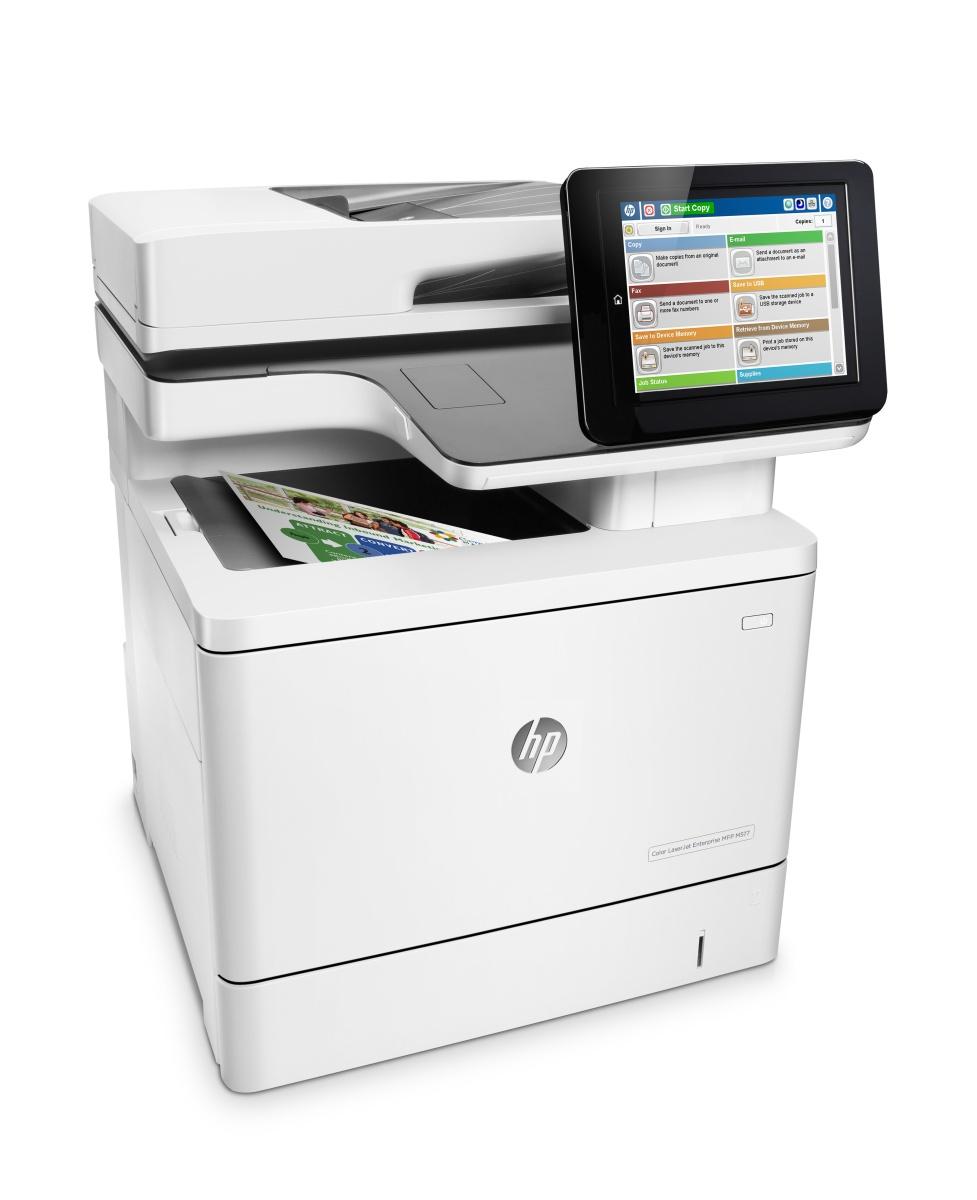 HP LJ Enterprise 500MFP CM577f/A4, LAN, FAX