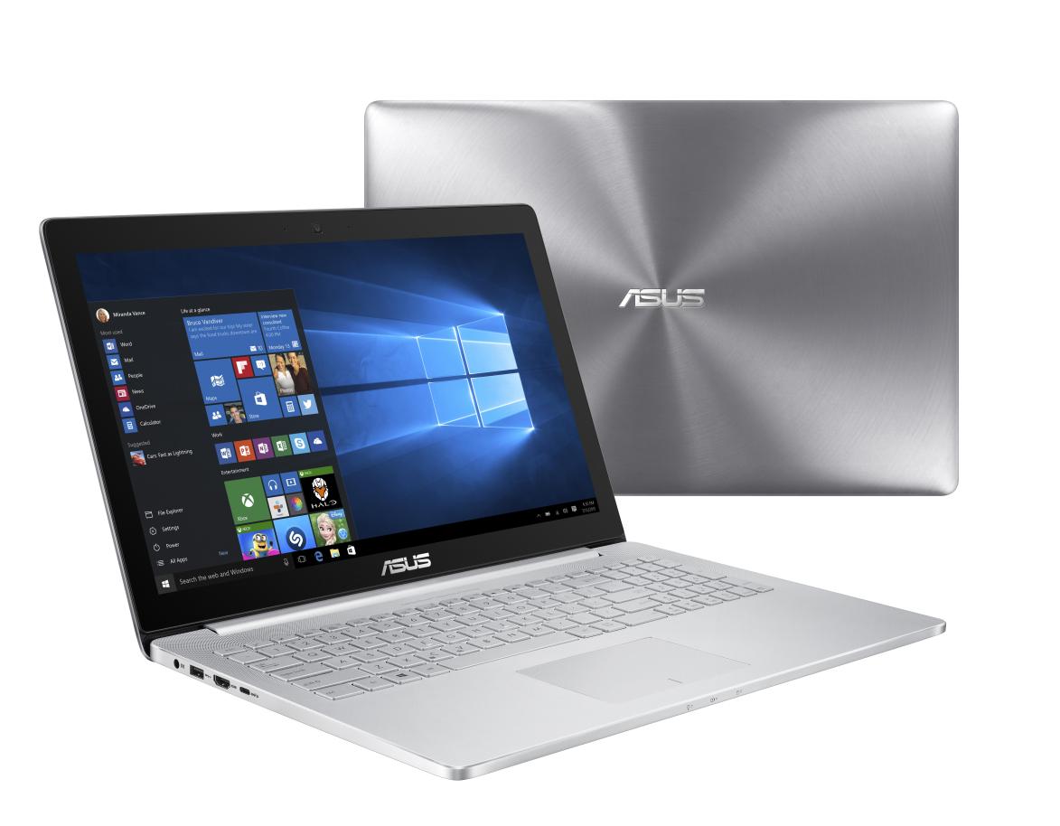 "ASUS UX501VW-FJ006R i7-6700HQ/16GB/512GB SSD/15,6"" UHD/Touch/GTX960M 4GB/Win10P/šedý"