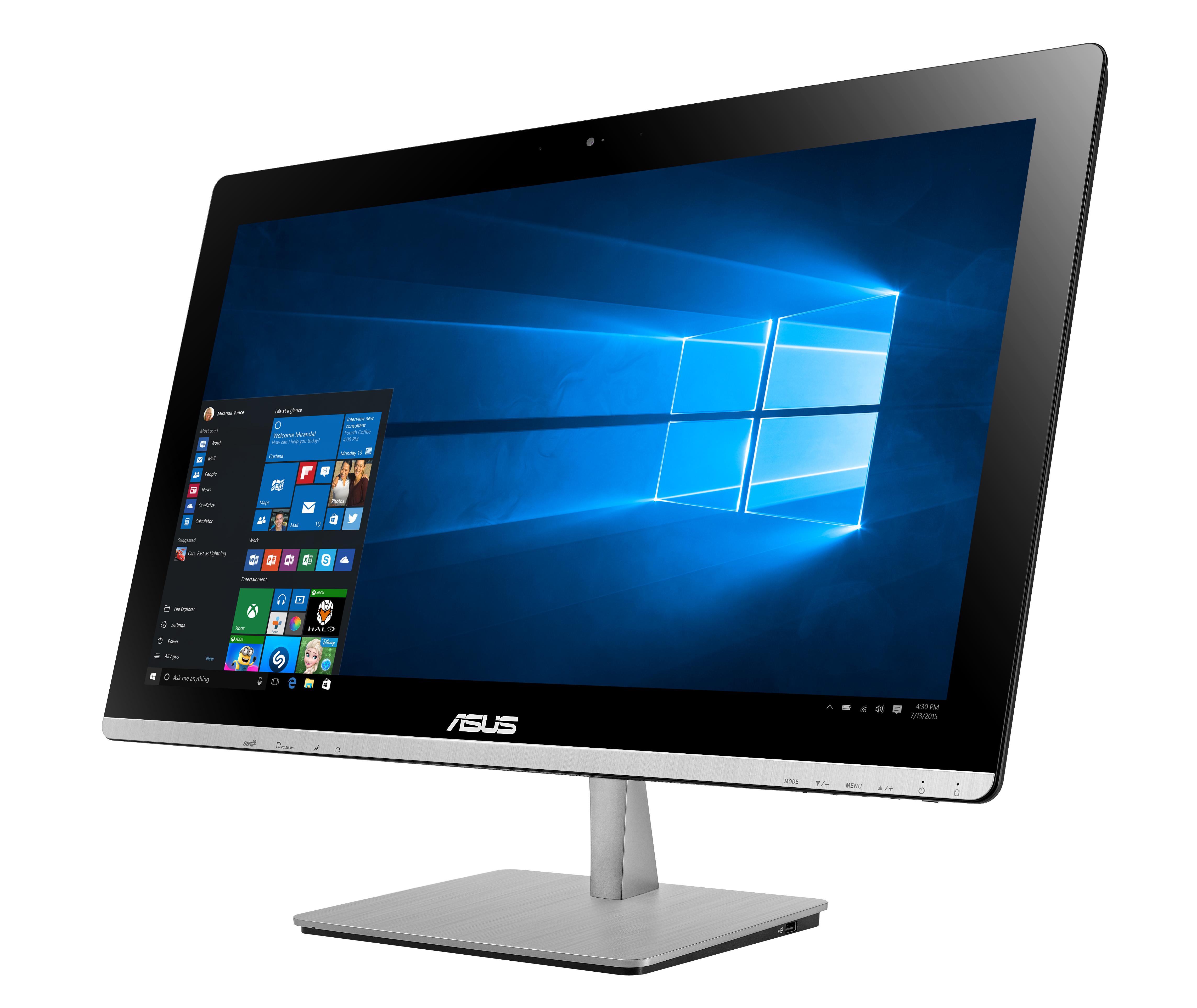 ASUS AIO V230 23T/i7-6700T/2TB/8G/BT/W10 černý