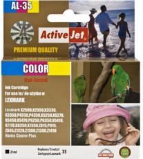 Inkoust ActiveJet AL-35 | Color | 21 ml | Refill | Lexmark 18C0035E