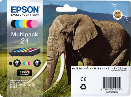Inkoust bundle Epson Multipack 6-colours 24 Claria Photo HD Ink   29,1 ml
