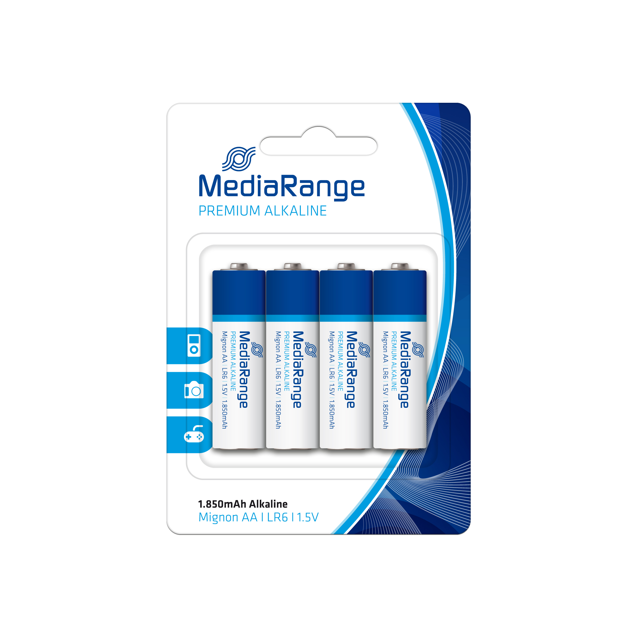 MEDIARANGE Premium baterie Mignon AA 1,5V Alkalické 4pck/BAL