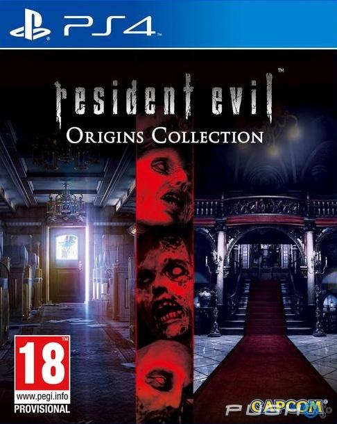 Capcom PS4 Resident Evil Origins Collection