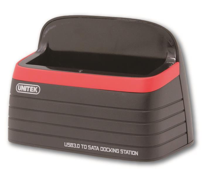 Unitek Y-1077 dokovací stanice HDD 2.5''/3.5'' SATA III - USB 3.0
