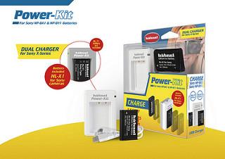 Hähnel Power-Kit pro Sony - nabíječka NP-BX1&NP-BY1 + baterie HL-X1 (NP-BX1)