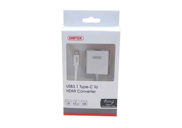 Unitek Y-6309 Adaptér USB 3.1 type-C - HDMI