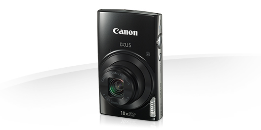 "Canon IXUS 180 BLACK - 20MP, 10x zoom, 24-240mm, 2,7"", HD video"