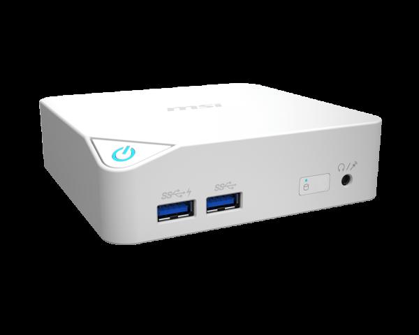 """MSI PC Cubi-055XEU i3-5005U Broadwell/4GB/SSD 128GB+volitelně 2.5"""" HDD Extension/HD5500/Wifi/BT/USB/No OS/White"""