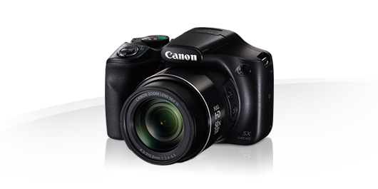"Canon PowerShot SX540 HS, Black - 20MP, 50x zoom, 24-1200mm, 3""LCD"